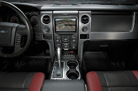 2014 Ford F-150 SVT Raptor dash