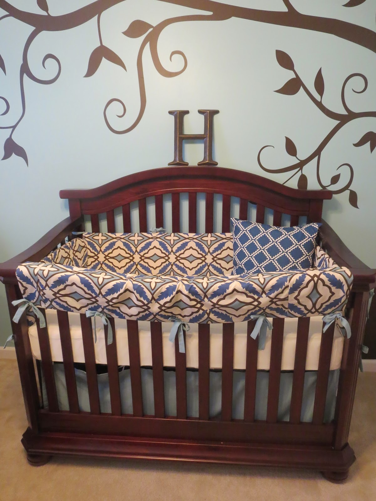Crib for sale in lahore - My Next Project Was A Wall Collage Over Harrison S Dresser I Had Seen Several Collages In Baby Nurseries And I Really Loved The Look Of It