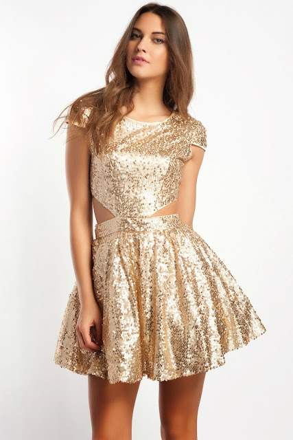 fırfır etekli, gümüş renkli kısa abiye modeli, balo elbisesi 2014