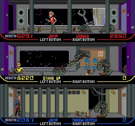 Future War Stories: FWS Forgotten Classics: XENOPHOBE (1987) Xenophobe Game