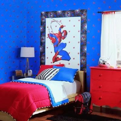 Habitaci n de spiderman ideas para decorar dormitorios for Cuartos decorados hombre arana