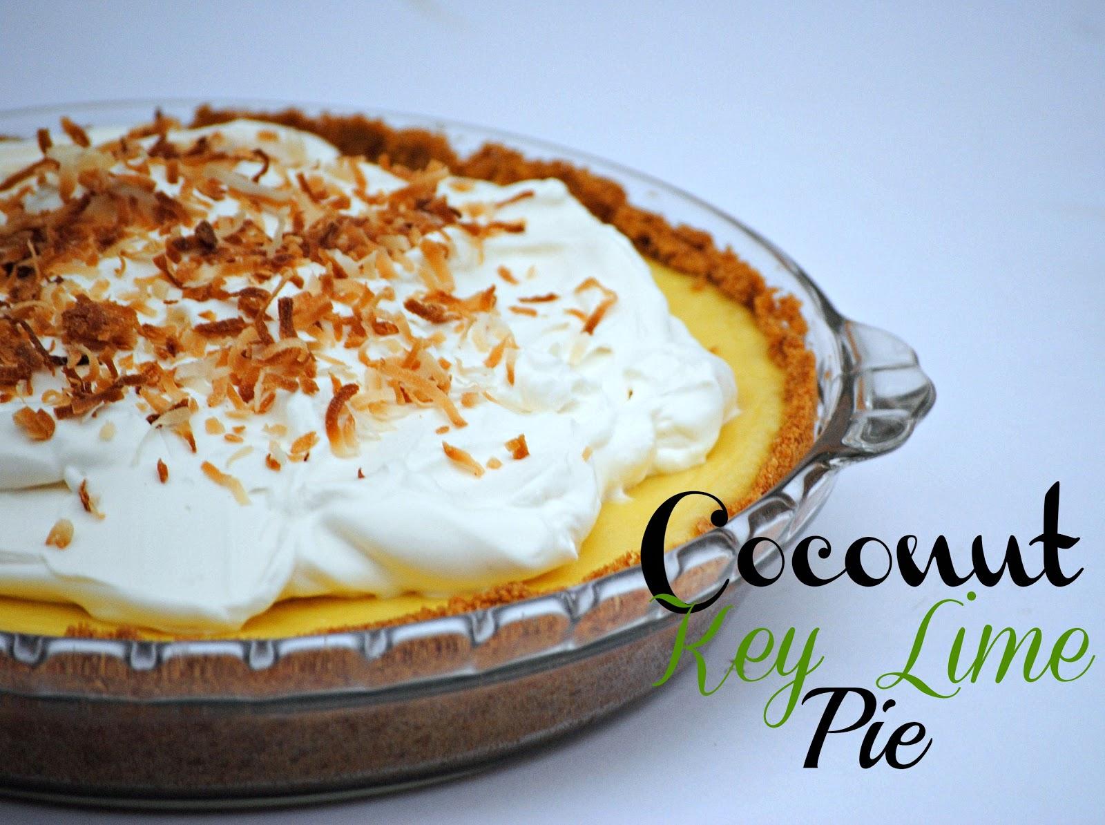 The Farm Girl Recipes: Coconut Key Lime Pie