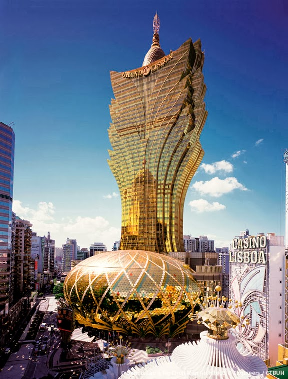 ugliest buildings - Grand Lisboa Casino in Macau - you are not an architect