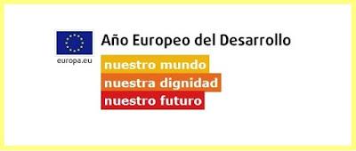 Logotipo y lema del año europeo del desarrollo