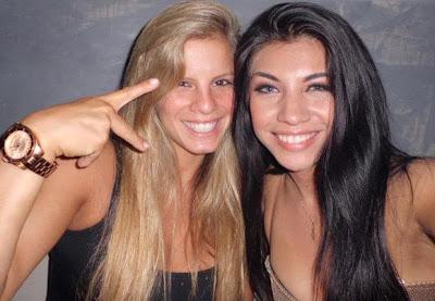 Alejandra Baigorria y Diana Sánchez