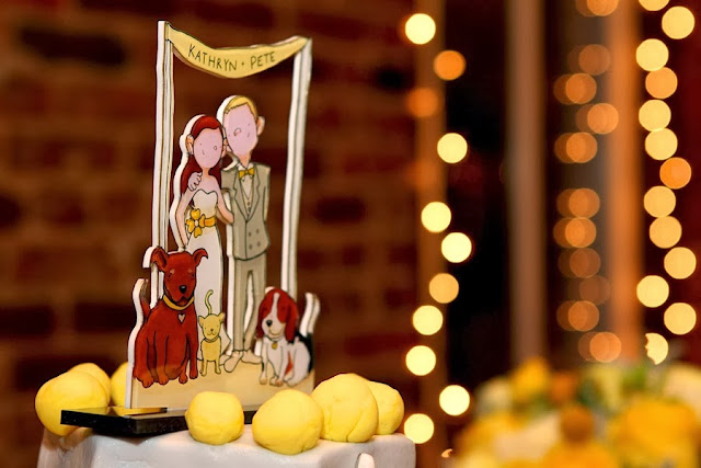 cake toppers ilustracion muñecos para tarta de boda originales