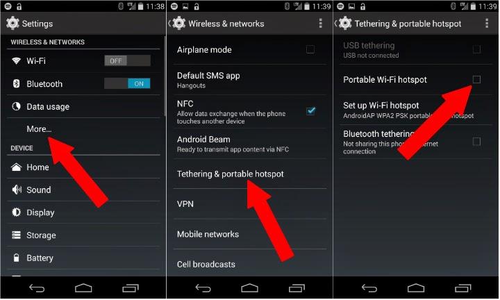 Cara Membuat Wifi Hotspot di Android