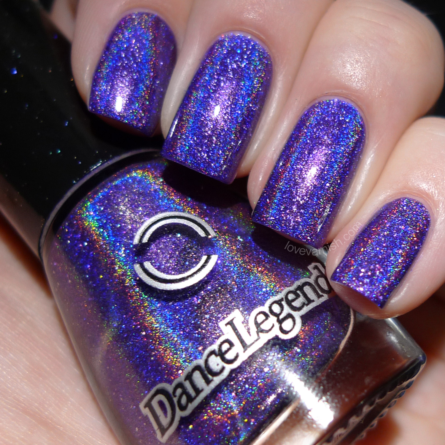 Dance Legend Holodays Anthem purple holographic