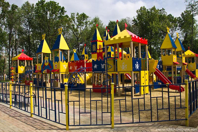 Детский игровой комплекс, парк Пролетарского района, Саранск