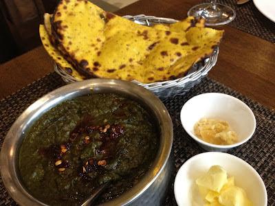 Sarson Ka Saag at Punjab Grill, Pune