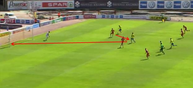 1-0 gol de Araujo