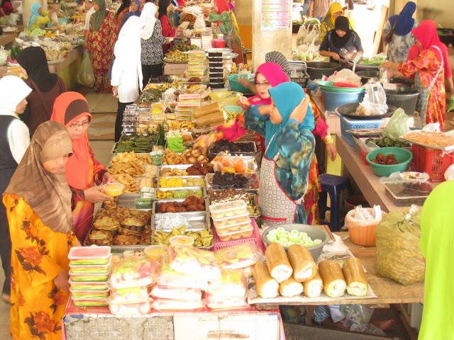 سوق السيدة خديجة (أم المؤمنين) في ماليزيا