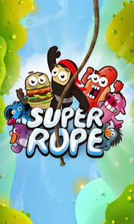 Screenshots of the Super Rope for Android tablet, phone.