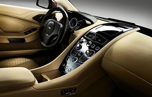 Aston Martin new Vanquish interior 2