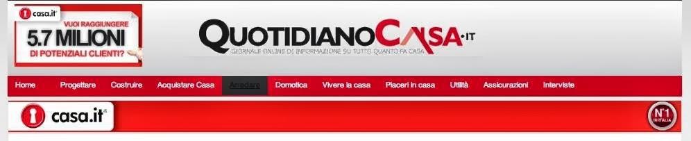 articoli e citazioni su QuotidianoCasa.it
