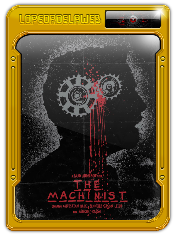 The Machinist (El Maquinista) (2004) [BrRip-720p-Dual-Mega]