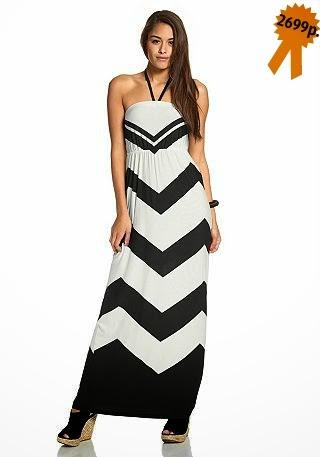 Летнее платье AJC геометрический принт