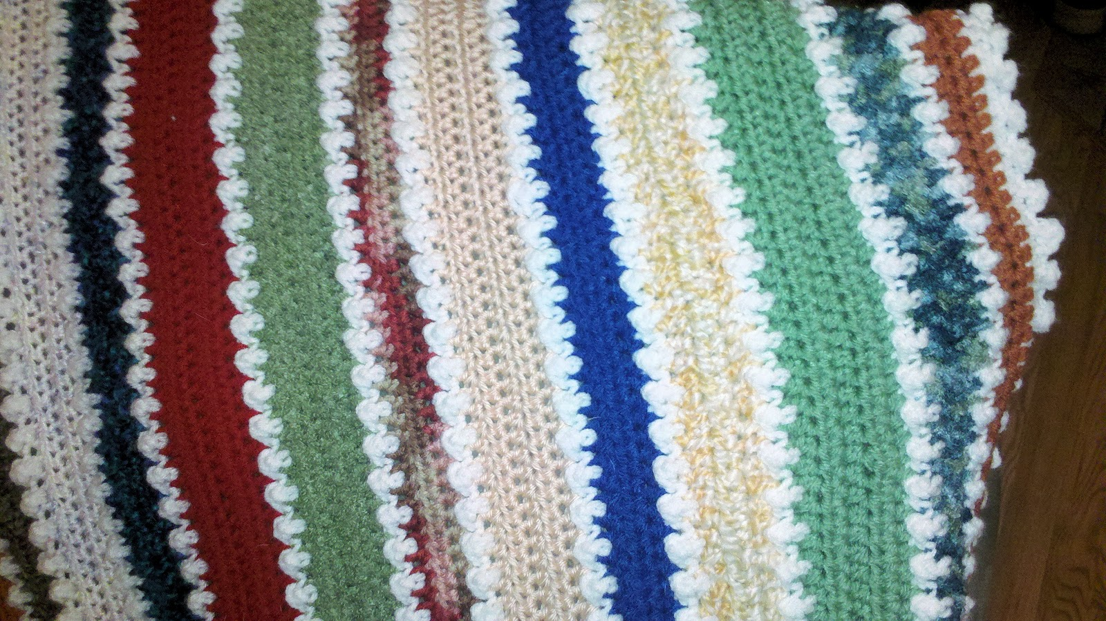 Half Double Crochet Afghan Patterns