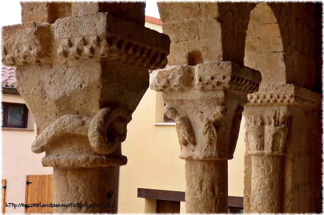 capiteles Iglesia de San Miguel, San Esteban de Gormaz