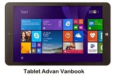 Harga Tablet Advan Vanbook Terbaru