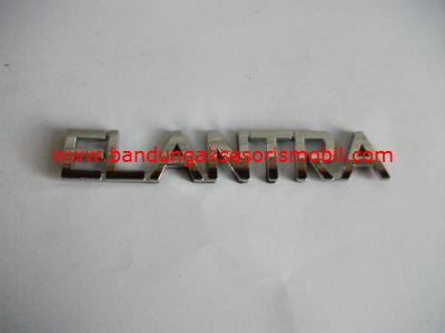 Emblem Tulisan Elantra