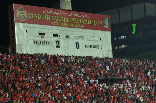Scoreboard lama stadium sultan muhammad ke iv