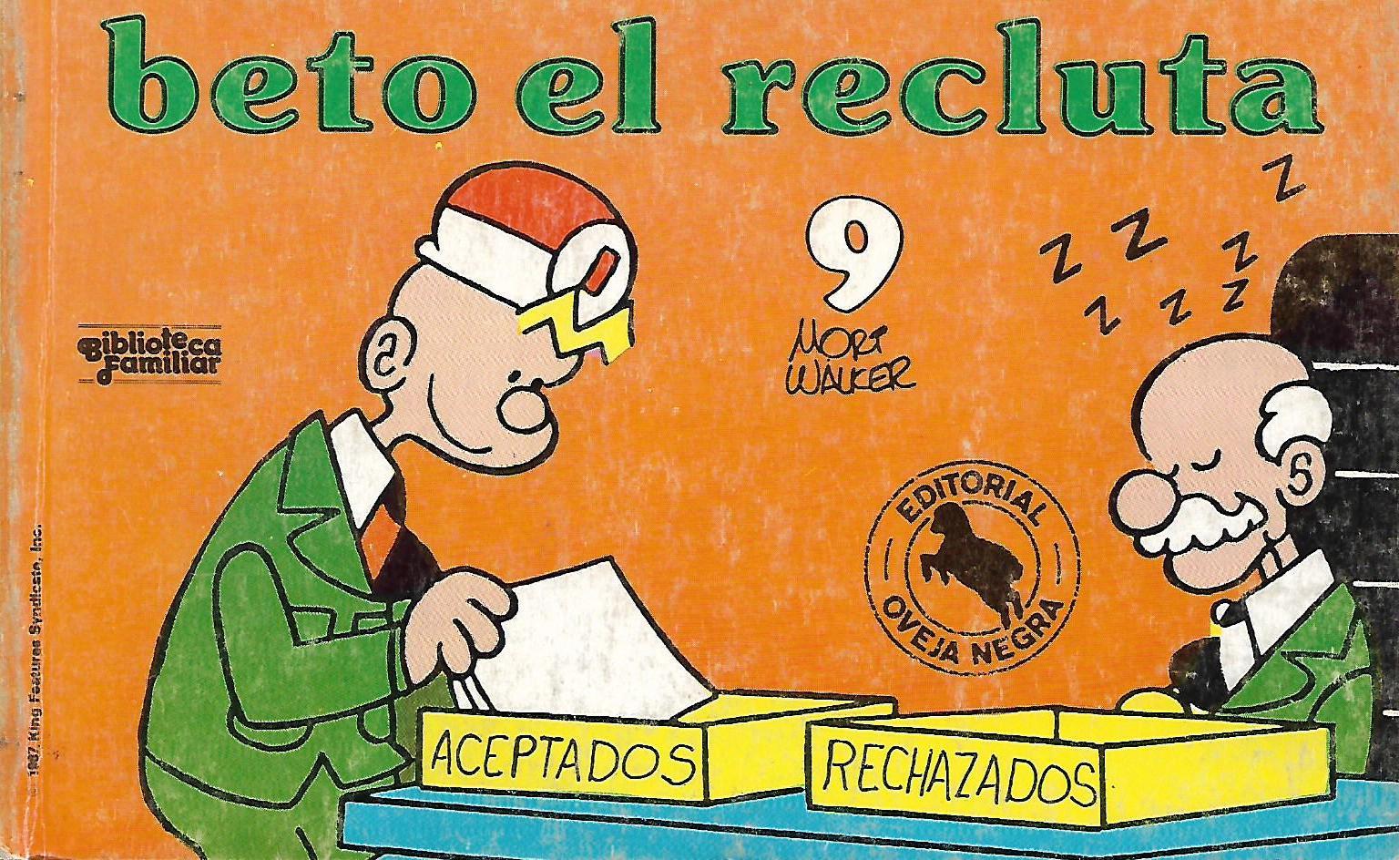 Próximamente: BETO EL RECLUTA  nº 9 Ed. Oveja Negra. 04