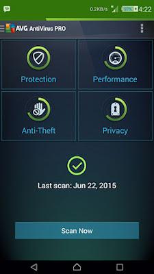 AVG Antivirus Pro v4.4.2 APK-Screenshot