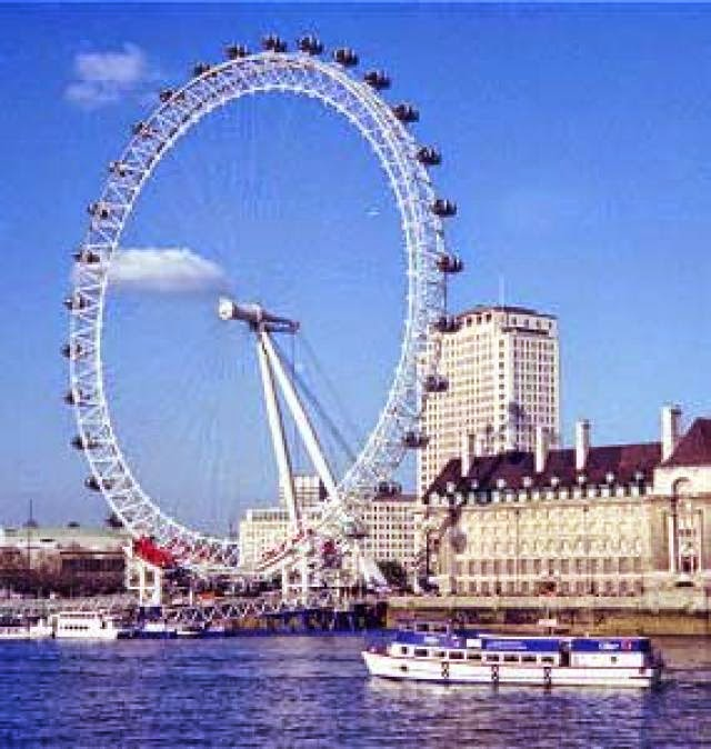 The London Eye, London, England, UK