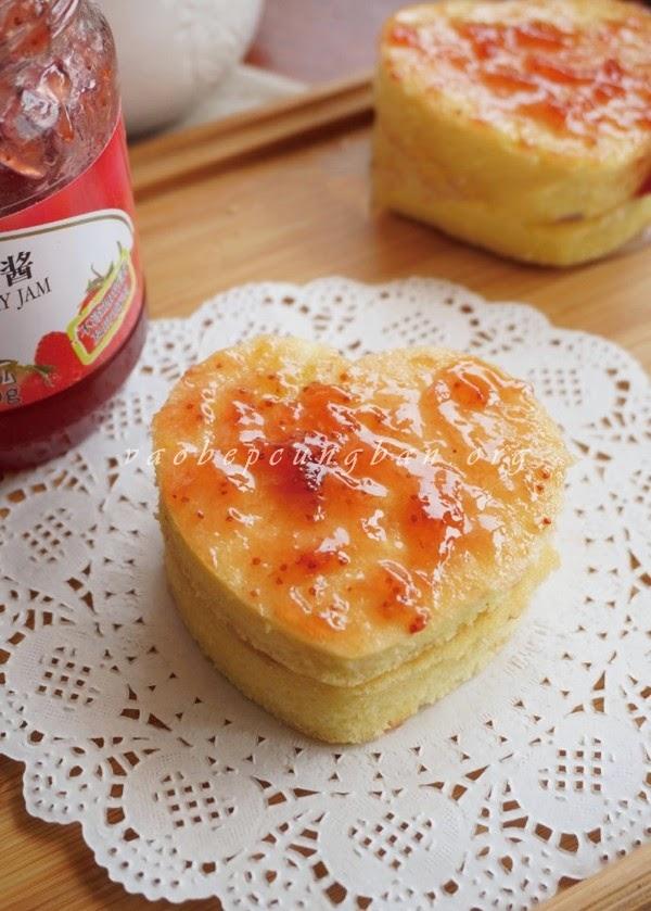 Cách làm bánh Chiffon kẹp mứt hấp dẫn 2