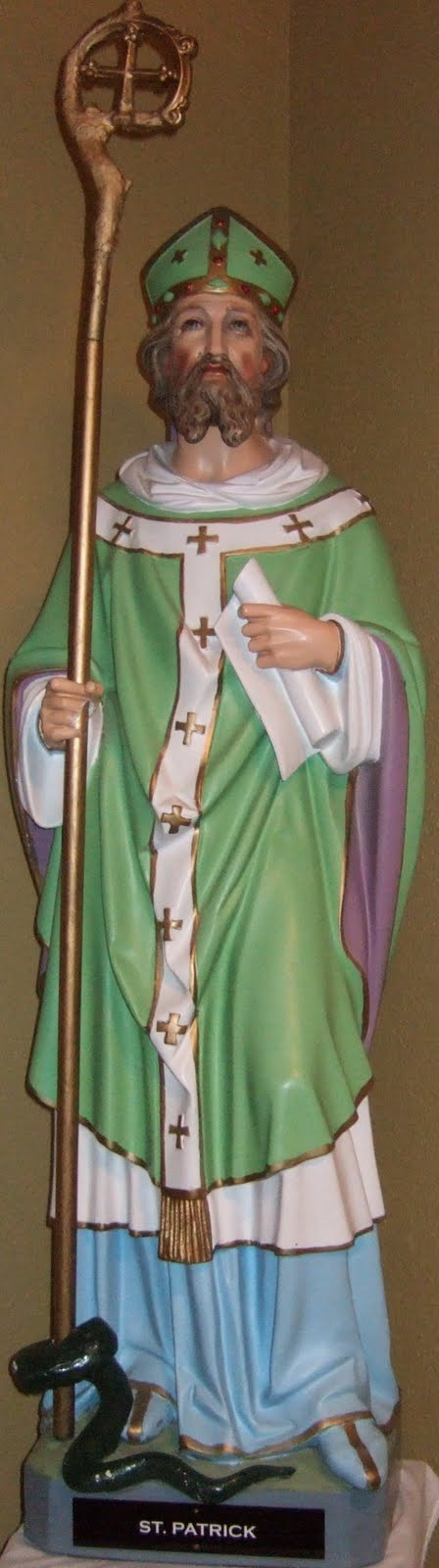 ST PATRICK,OUR PATRON SAINT