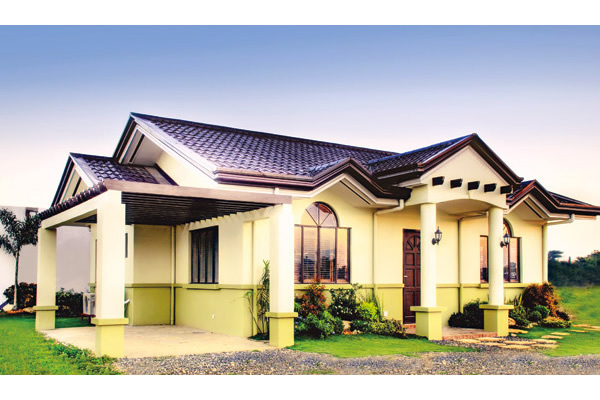 Cebu House Single Detached Bungalow 3 Bedrooms One Storey House Plans In  The Philippines