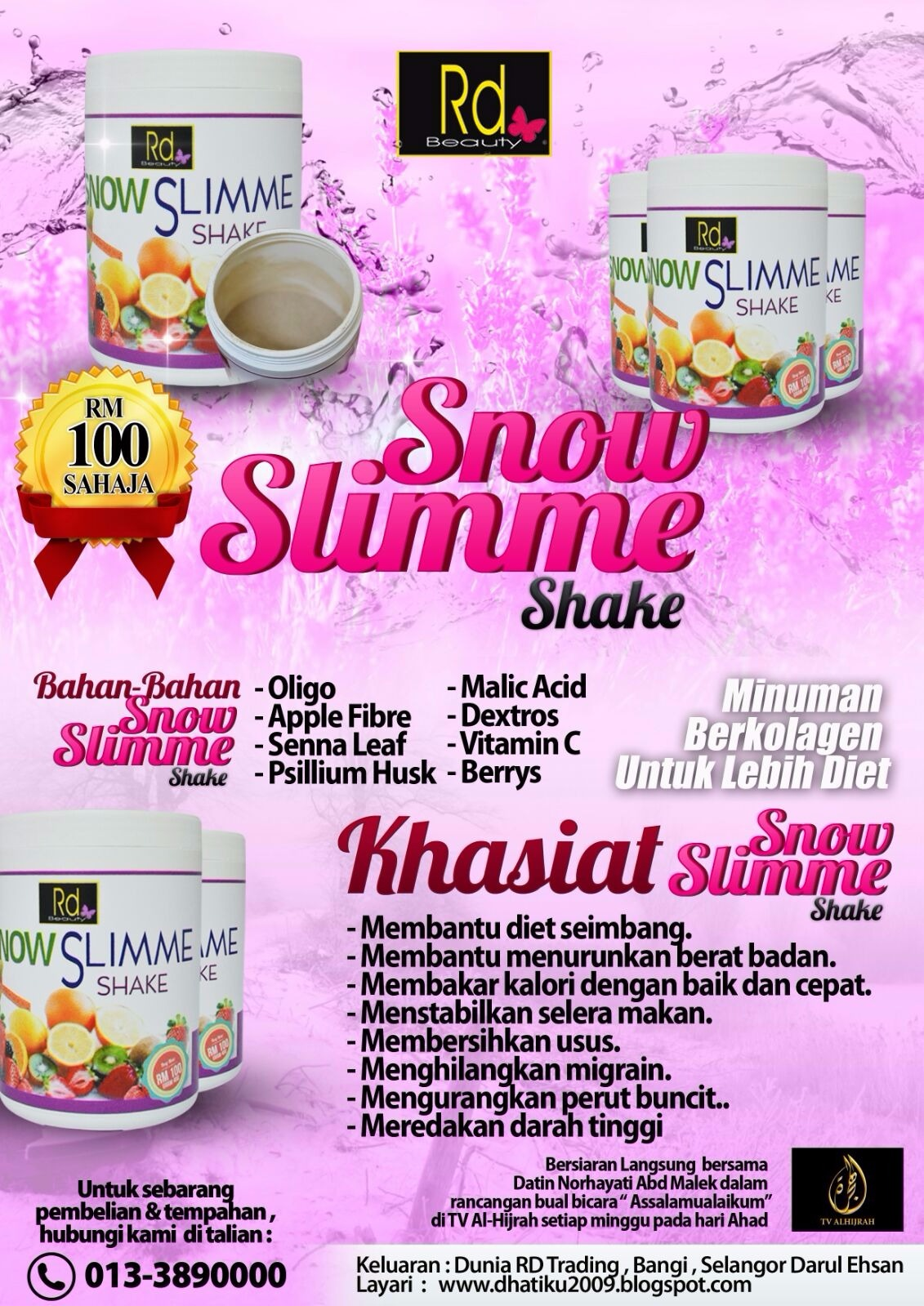 SNOWSLIMME SHAKE