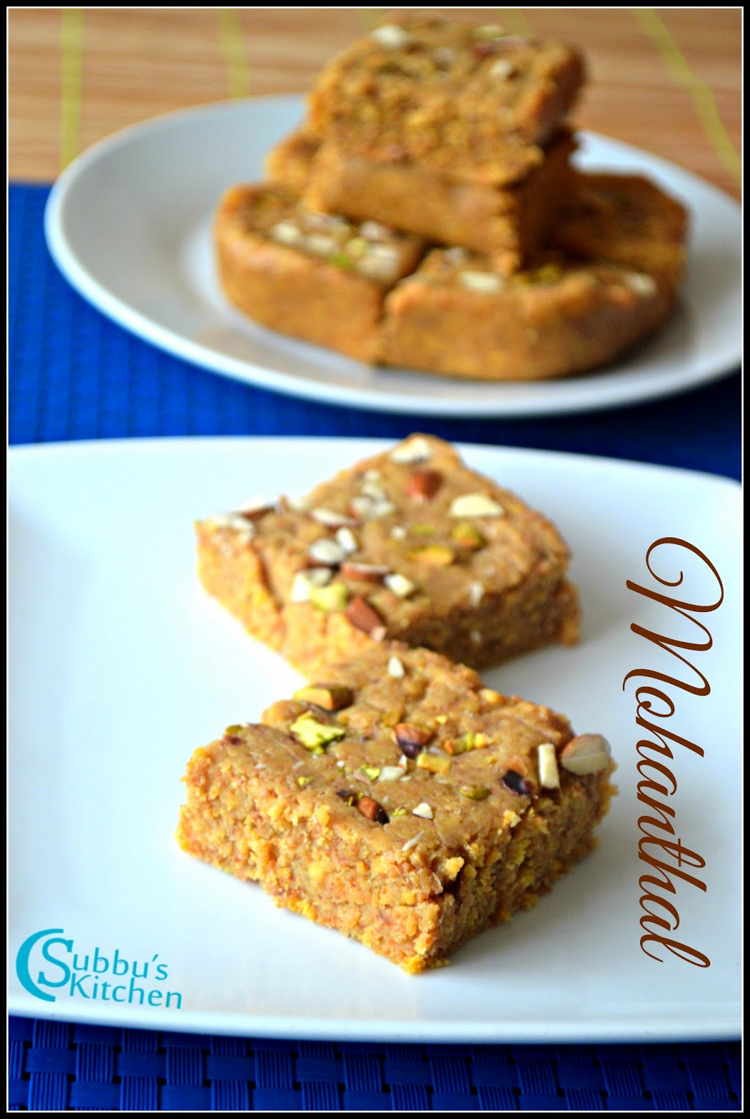 Mohanthal Recipe   Instant Mohanthal Recipe