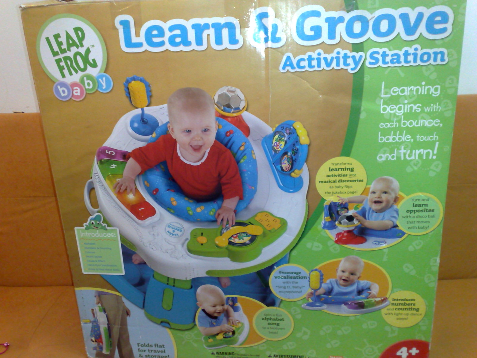 Leapfrog Learn Groove Activity Station - YouTube