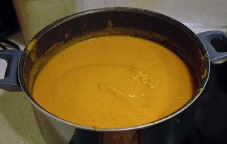 Butternut soup dairy free