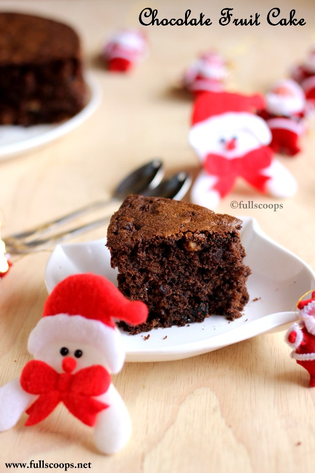 Fruit Chocolate Cake Images : Chocolate Fruit Cake Chocolate Christmas Cake Recipe ...