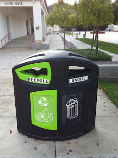 Help CI Become a Green Campus - Please Recycle