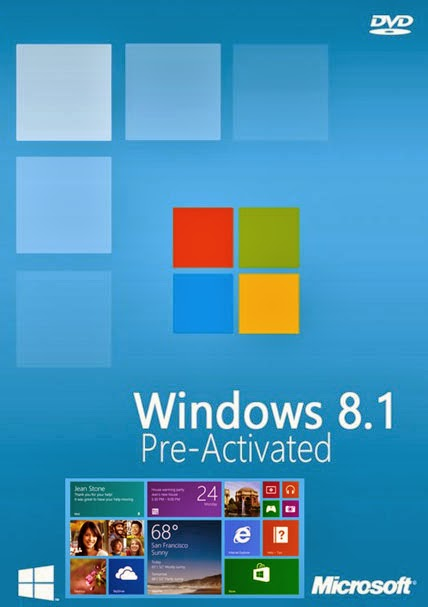 WINDOWS 8.1 AIO X86 X64 20IN1 UPDATE MARCH 2014