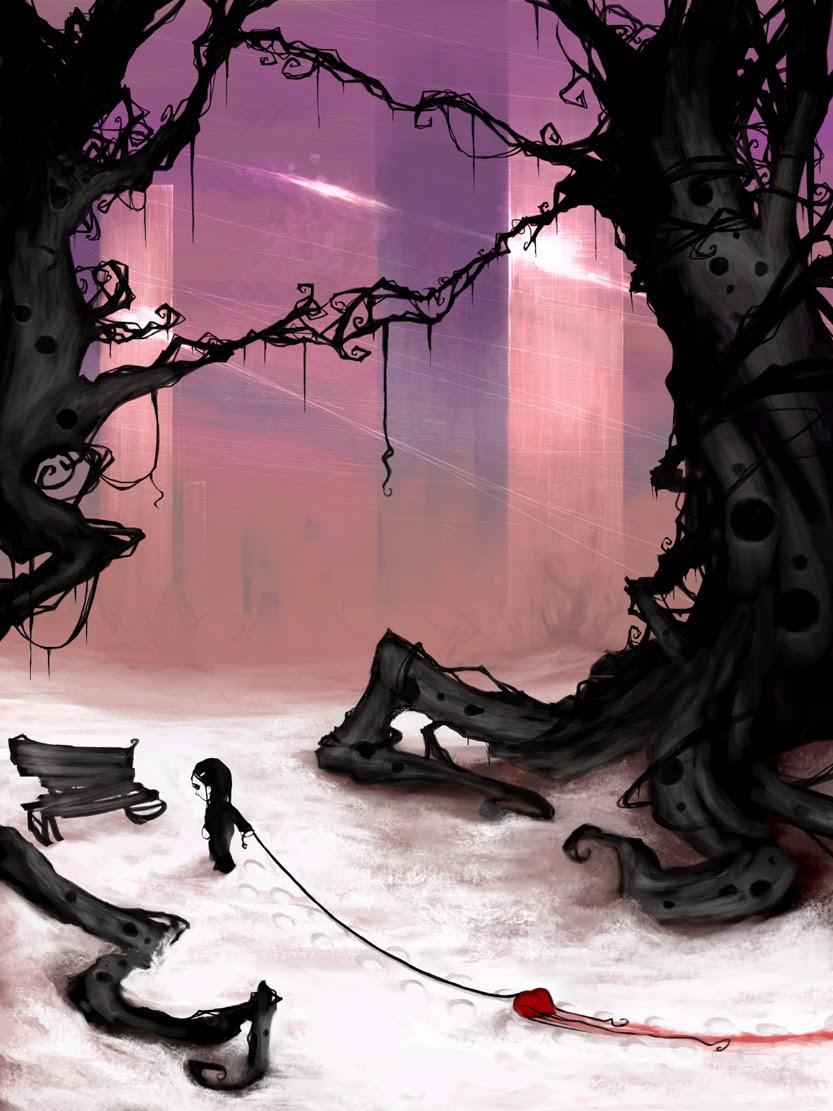08-Heavyhearted-Rolando-Cyril-aquasixio-Surreal-Fantasy-Otherworldly-Art-www-designstack-co
