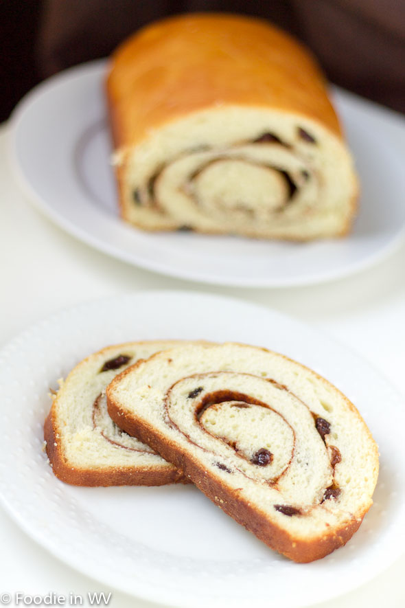 Click for Recipe for Cinnamon Swirl Raisin Bread