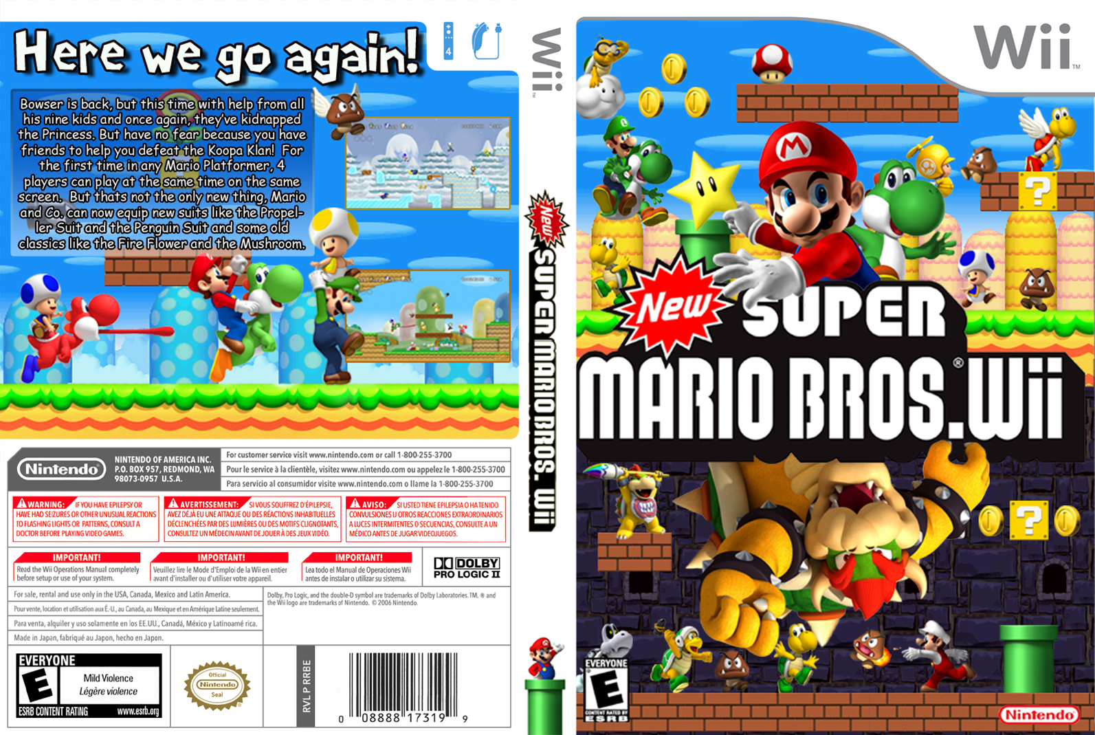 New super mario bros wii download for dolphin