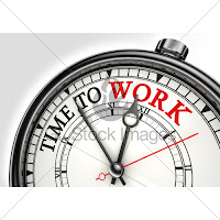 Time to Work Clock image
