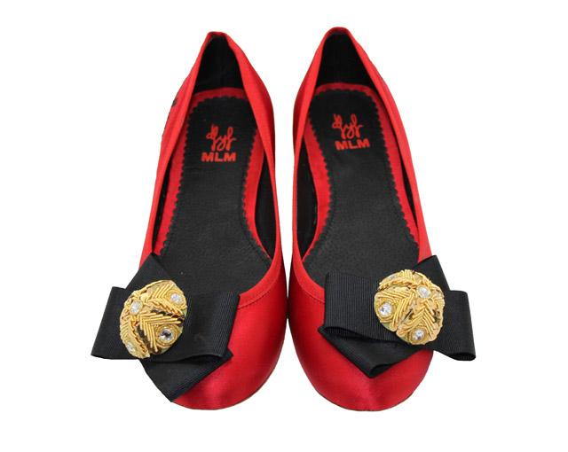 De flores y floreros , zapatos coquetos y originales