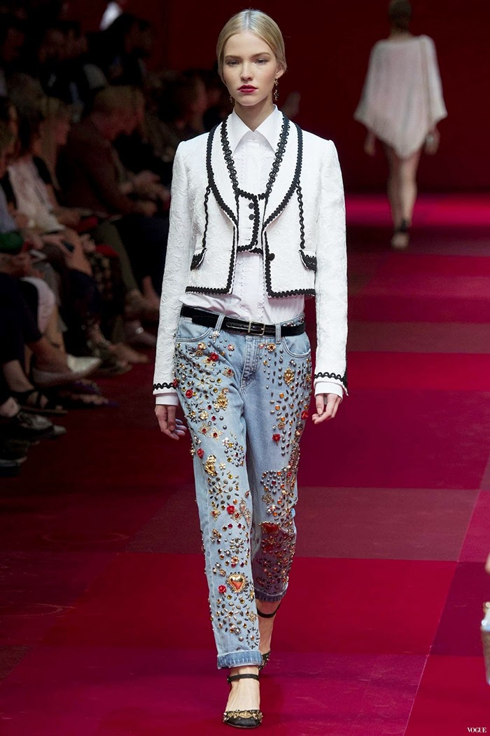Dolce & Gabbana Ready To Wear Spring Summer 2015 Milan Part 4