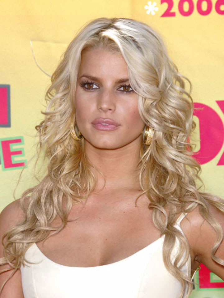 Funny Image Collection Beautiful Jessica Simpson Hairstyles