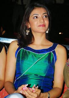 Kajal Agarwal In Silky Dress