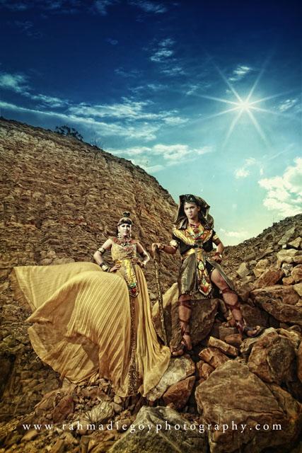 foto prewedding tema cleopatra egyptian beauty queen 1