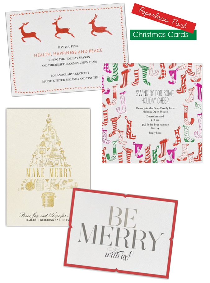 kimberly schlegel whitman paperless post christmas cards