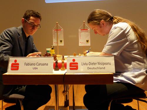 Dortmund Sparkassen Chess Meeting. Nisipeanu - Caruana